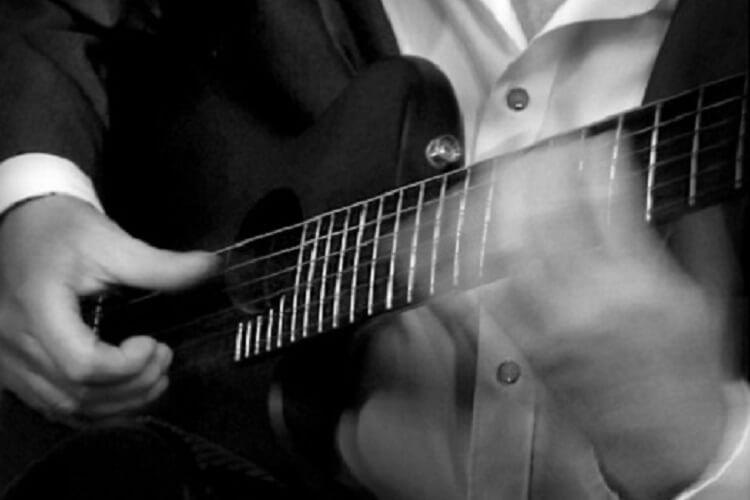 Gitarren-Live-Musik